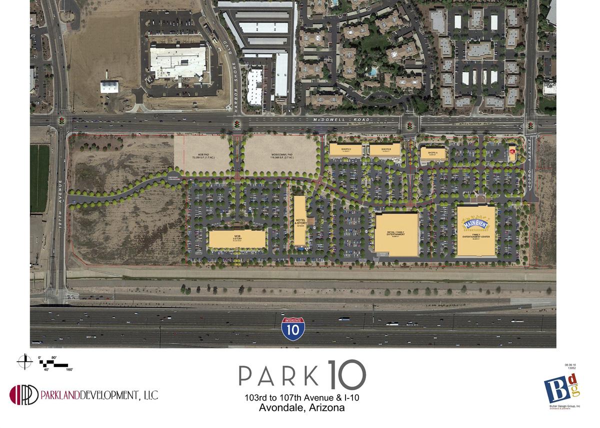 Park 10 Site map